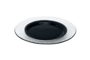Clear Black Plate Clear Black Hand Maid Glass
