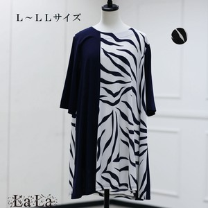 """2020 New Item"" ZEBRA Switching Line Tunic"