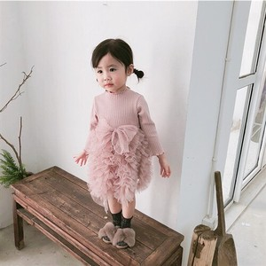 Sleeveless Kids One-piece Dress