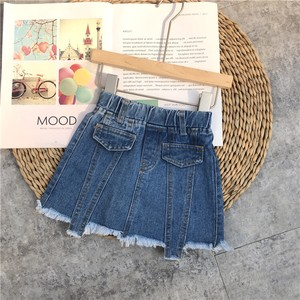 Skirt New Arrival Girl S/S Denim Skirt