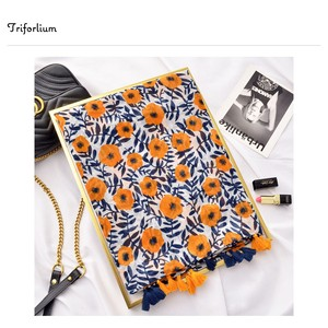 [ 2020NewItem ] Floral Pattern Print Thin Stole