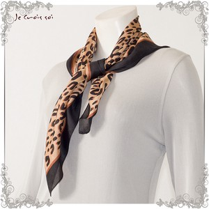 """2020 New Item"" 3 Colors Square Fabric Print Animal Print Stole"
