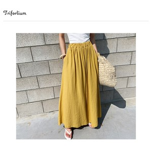 [ 2020NewItem ] 4 Colors Material Waist Pants