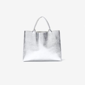 TASINAMI 日本製 Leather Mini Tote S Metallic