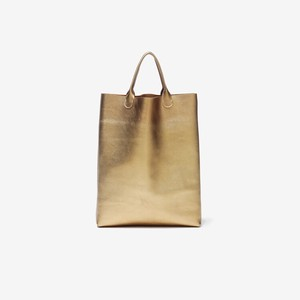 TASINAMI 日本製 Leather Mini Tote M Metallic