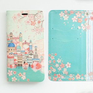 Inside Design Sakura iPhone Notebook Type Case Belt Dream