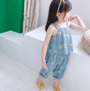 Children's Clothing Set Overall Kids Casual Korea
