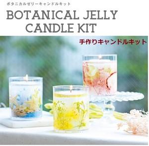 ボタニカルゼリーキャンドルキット【手作りキット】