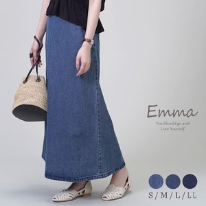 [ 2020NewItem ] Denim Skirt Behind