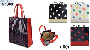 [ 2020NewItem ] A4 size Dot Tote Bag Dot Casual