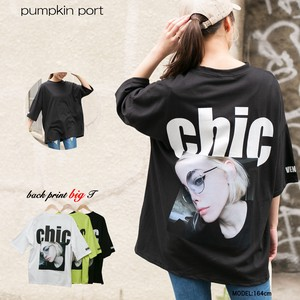 [ 2020NewItem ] Korea Cotton Bag Print Photo Print Big Long T-shirt
