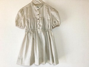 Hand Maid Tuck Blouse Kids One-piece Dress size