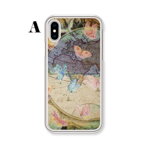 Wakayama Factory iPhone Butterfly Type Clear Hard Case