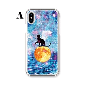 Wakayama Factory iPhone cat cat Type Clear Hard Case
