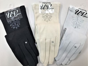 S/S Long Glove Embroidery Beads