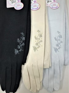 S/S Countermeasure Long Glove Embroidery Beads