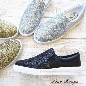 [ 2020NewItem ] Slippon Shoes Ladies Shoe Glitter Casual