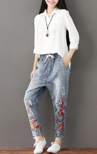 Denim 9/10Length Pants