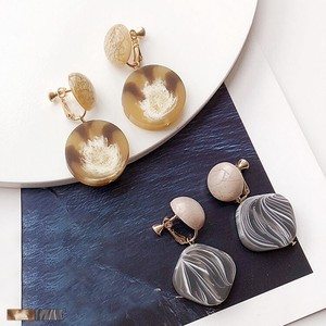 Marble Pattern Adult Earring