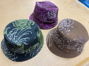 Hats & Cap Ladies Floral Pattern Crochet S/S