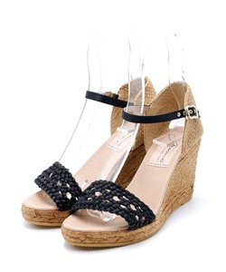 Mesh Heel Sandal Sandal High Heel Wedged