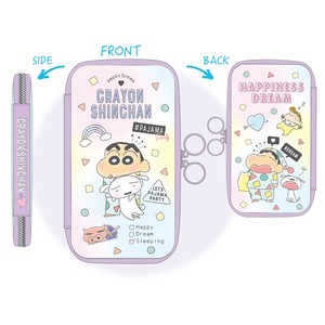 """Crayon Shin-chan"" Flat Multi Pencil Case Happy Dream"