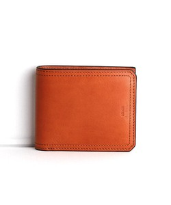 Cow Leather Clamshell Wallet