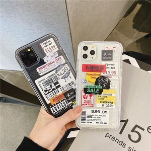 iPhone PRO Label Type iPhone soft Case Model