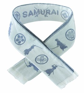 Cool Japanese Pattern Gauze Scarf
