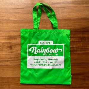Reservations Orders Items Nylon Bag GREEN