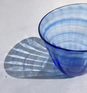 そばちょこ「Kai-gala」セルリアンブルー つゆ鉢 フリーグラス