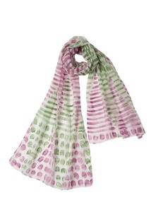 Weaving Hand Paint Stole