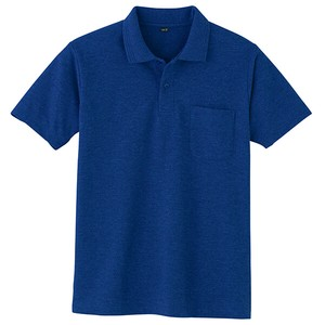 Kanoko Short Sleeve Polo Shirt Navy