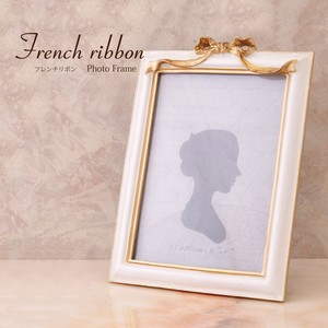 French Ribbon Photo Frame Lecht