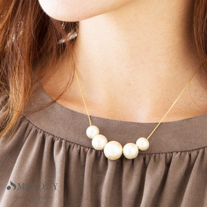 Pearl Cotton Pearl Necklace