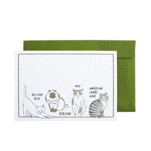 Greeting Card BROOCH MIN CARD Envelope Set