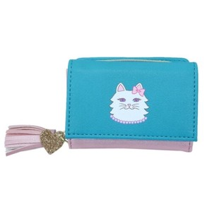 Three Compact Wallet Cat