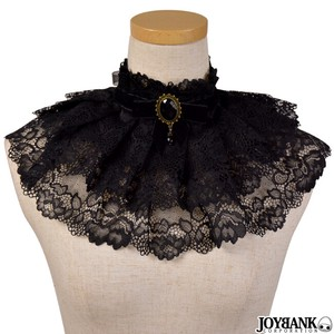 3 Steps Frill Choker Lace Cameo Gothic Dress Costume Halloween