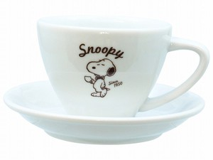 Snoopy Cafe Cups & Saucer Character