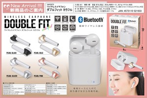 Earphone Double Fit Colorful