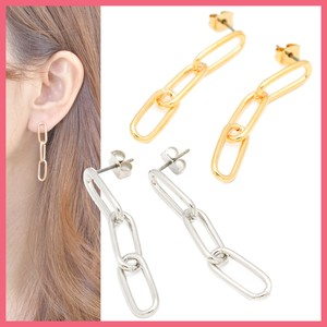 Metal Chain Pierced Earring