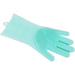 Silicone Glove Wash Hand Green