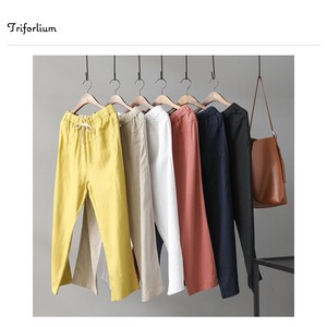 [ 2020NewItem ] 6 Colors Material 9/10Length Pants