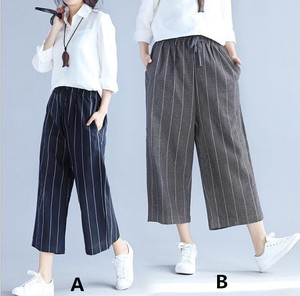 Ladies Casual Pants Stripe Pants