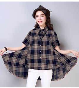 Loose Checkered Shirt