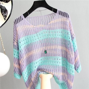Sweater Ladies Sunscreen Knitted Knitted Cardigan Ladies