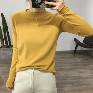 Sweater Ladies A/W Knitted Korea Leisurely Knitted Bottom