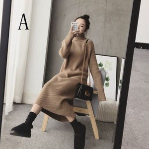 Sweater Ladies Knitted Skirt Korea Leisurely Knitted Cardigan Sweater Ladies