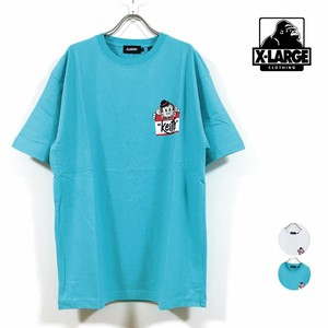 extra Sticker T-shirt Short Sleeve Men's