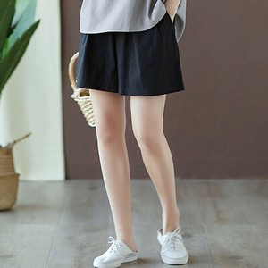 Leisurely Cotton Linen Short Pants
